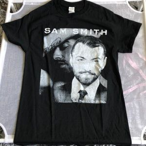 Sam Smith The Thrill Of It All Tour Concert Shirt
